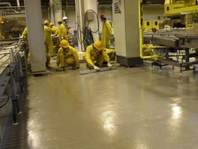 耐防腐聚氨酯地坪